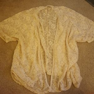 Tops - Lace cover up